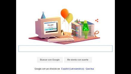 Google celebra su 17 aniversario con nuevo doodle