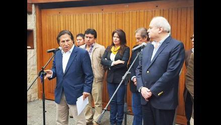 Toledo planteó al Gobierno que FFAA apoyen a la Policía Nacional