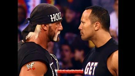 WWE: Hulk Hogan y La Roca pelearían nuevamente juntos