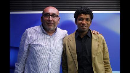 Carlos Farfán, el ganador de 'Yo Soy' visitó la cabina de RPP