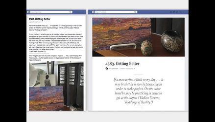 'Facebook Notes' una herramienta de publicaciones al estilo de un blog