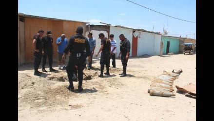 UDEX neutraliza tres granadas halladas en calle de El Agustino