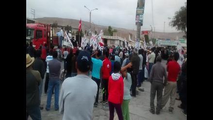Arequipa: pobladores de Tambo acuerdan seguir con protestas