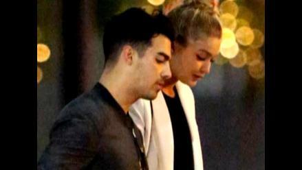 Gigi Hadid y Joe Jonas pasearon su amor por las calles de París