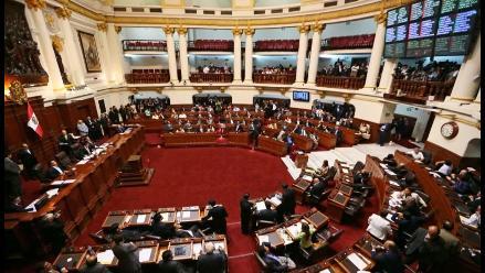 Luis Iberico: Congreso votará Ley de Partidos Políticos este jueves