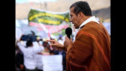Presidente Humala lamenta enfrentamientos por minera