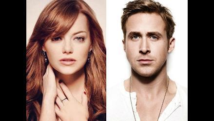 ¿Ryan Gossling y Emma Stone iniciaron romance?