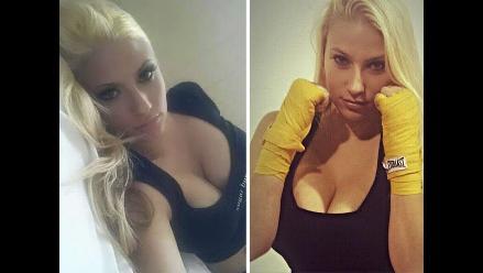 MMA: peleadora tuvo que cambiar de categoría por tamaño de su busto