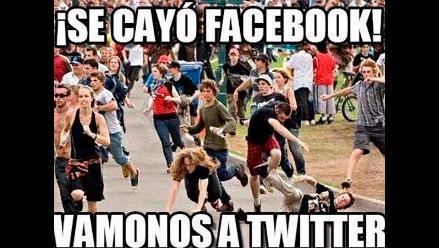 Twitter: Facebook no se salvó de los memes por su caída