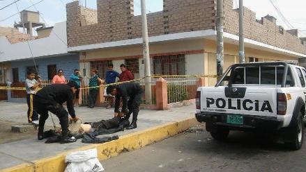 Chimbote: reciclador murió de un paro cardiaco en plena vía pública