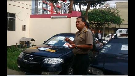 Trujillo: Incautan vehículo que fue robado en Ecuador
