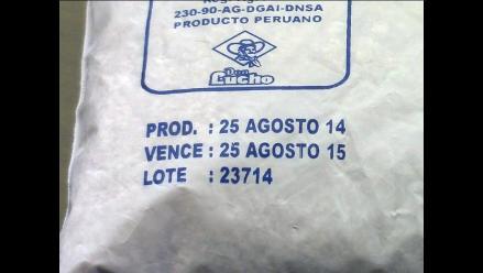 Huancayo: detectan alimentos vencidos en Programa de Vaso de Leche en Viques
