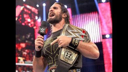 WWE: Seth Rollins rompió récord con el campeonato mundial