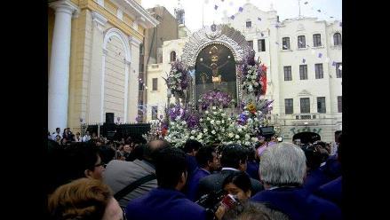 Cristo Morado se alista para recorridos procesionales en Chiclayo