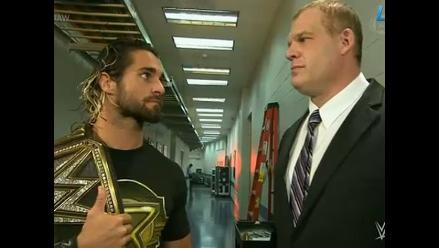 WWE: Kane habría sido denunciado por Seth Rollins ante RR.HH.