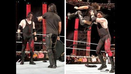 WWE: Kane cobró venganza de Seth Rollins y se quedó con el cinturón
