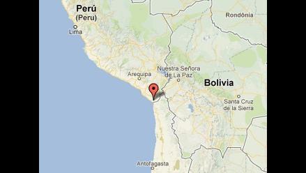 Sismo de 4.0 grados de magnitud se registró en Tacna
