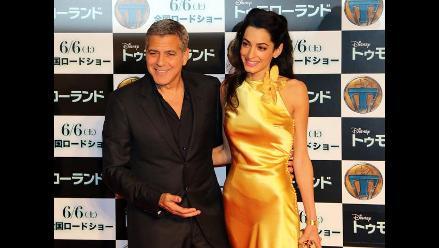 Clooney y Amal Alamuddin: así vivieron su primer aniversario de bodas
