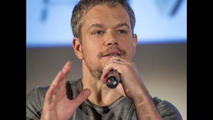 Matt Damon aclara polémicos comentarios sobre actores gays