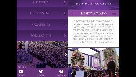 Señor de los Milagros contará con aplicación para Android e iOS