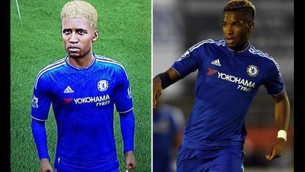 Instagram: jugador del Chelsea enfurecido por salir feo en FIFA 16