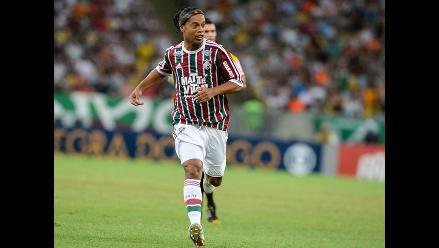 Ronaldinho olvida a Fluminense con la persona que más ama en el mundo