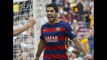 Barcelona vs. Bayer Leverkusen: Luis Suárez grita a Ter Stegen por error