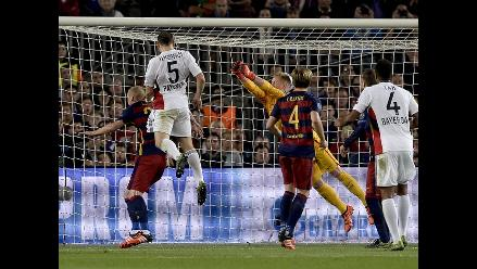 Barcelona vs. Bayer Leverkusen: Ter Stegen le 'regaló' el gol a Papadopoulos