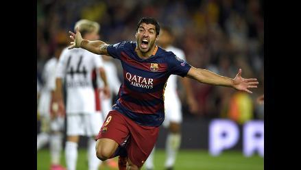 Barcelona: Luis Suárez repitió en Champions gol anotado a Perú en Eliminatorias