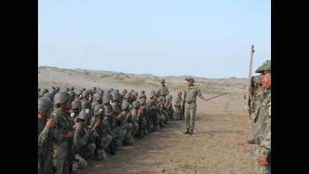 Chiclayo: 900 soldados del ejército preparados para lluvias del FEN