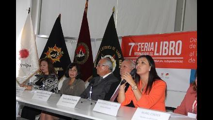 Feria Internacional del Libro se inauguró en Arequipa