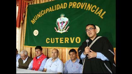 Cajamarca: ministro de Transportes visita provincias de Jaén y Cutervo