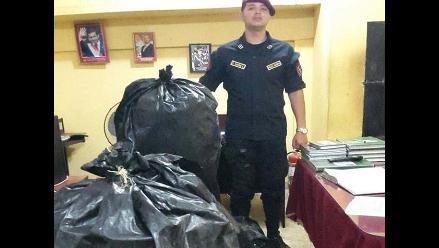 Huánuco: decomisan unos 300 kilos de coca en Tingo María