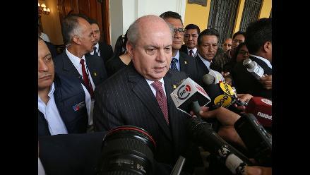 Pedro Cateriano se reúne hoy jueves con líder de Somos Perú
