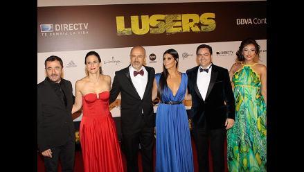 Lusers: Lluvia de estrellas en el avant premiere de la cinta