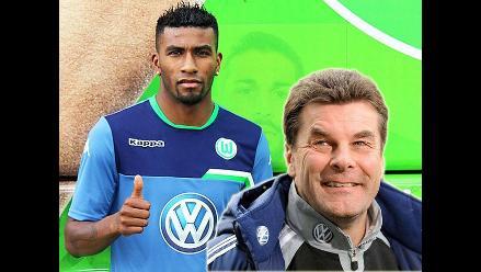 Wolfsburgo: DT de Carlos Ascues reveló por qué no debuta oficialmente