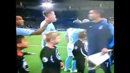 Malmö vs. Real Madrid: el saludo de Yoshimar Yotún con Cristiano Ronaldo