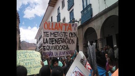 Cusco se movilizó contra norma que privatiza sitios arqueológicos