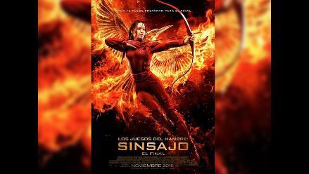 Sinsajo: Revelan nuevo póster de Los Juegos del Hambre