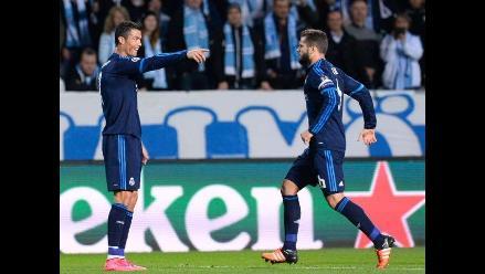 Champions League: Real Madrid ganó 2-0 a Malmö con doblete de Cristiano