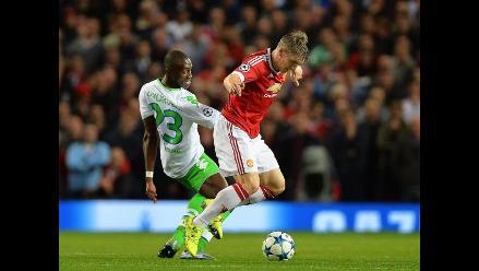 Champions League: Manchester United ganó por 2-1 al Wolfsburgo