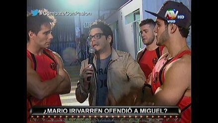 Combate: Miguel Arce enfrentó a Mario por mentarle la madre
