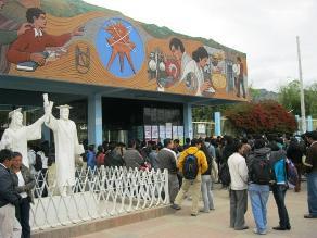 Cajamarca: suspenden labores administrativas y académicas en UNC