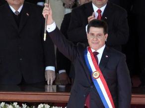 YouTube: Presidente paraguayo se quedó sin teleprompter y pasó penoso momento
