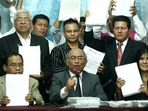 Julio Rosas renuncia a la bancada de Fuerza Popular