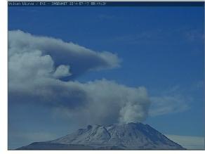 Arequipa: alertan nueva de emisión de cenizas en el volcán Ubinas
