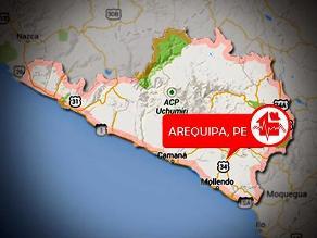 Sismo de 4.5 grados de magnitud se registró en Arequipa