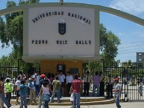 Descongelan cuentas de Universidad Pedro Ruiz Gallo