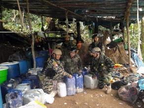 Puno: capturan a miembros de banda dedicada al tráfico de insumos químicos