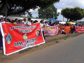 San Martín: Sutep inicia huelga indefinida para exigir pago de deuda